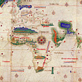 Antique Maps - Old Cartographic Maps - Antique Map Of The World, 1502 by Studio Grafiikka
