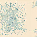 Antique Maps - Old Cartographic Maps - Antique Map Of Travis County, Texas, 1936 by Studio Grafiikka