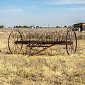 Antique Mccormick Hay Rake  by Gene Parks
