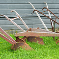Antique Plows by Joan D Squared Photography