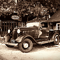 Antique Road Warrior - 1935 Dodge by Glenn McCarthy Art and Photography