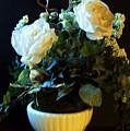 Antique Roses by Marsha Heiken