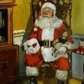 Antique Santa by Doug Strickland