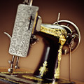 Antique Singer Sewing Machine 2 by Kelley King