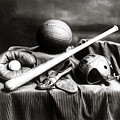 Antique Sports Equipment - American Athletics by Mark Tisdale