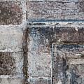 Antique Stone Wall Detail by Elena Elisseeva