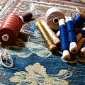 Antique Tapestry Repair  by Olivier Le Queinec