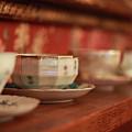 Antique Teacups by Cassie Jines