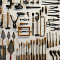Antique Tools by John Greim