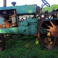Antique Tractor 1 by Ron Kandt