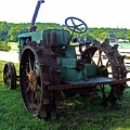 Antique Tractor 2 by Ron Kandt