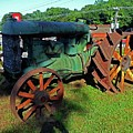 Antique Tractor 3 by Ron Kandt