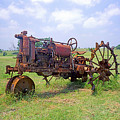 Antique Tractor  by Jim Smith
