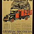 Antique Truck Poster by Richard Jenkins