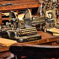 Antique Typewriter by Paul Ward