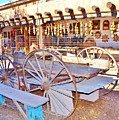 Old Santa Fe Antique Wagon And Culture by Cherie Cokeley