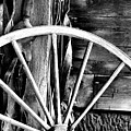 Antique Wagon Wheel by Michelle Joseph-Long