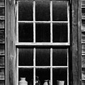 Antique Window With Pottery by Levin Rodriguez