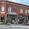 Antiques In Red Brick by Tom Cochran