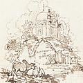 Antiquities Of Dacca by George Chinnery