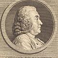 Antoine De Parcieux by Augustin De Saint-aubin After Charles-nicolas Cochin I