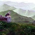 Antonio Atop La Rocca De Monte Calvo by Albert Puskaric