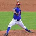 Antonio Bastardo New York Mets by Bruce Roker