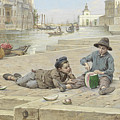 Antonio Ermolao Paoletti The Melon Sellers by MotionAge Designs
