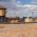 Antonito Colorado Tank And Station by JG Thompson