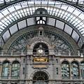 Antwerp Train by Jost Houk