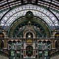 Antwerp Train Terminal by Doug Sturgess