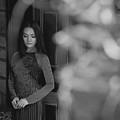 Ao Dai In Da Lat by Tran Minh Quan