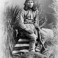Apache Leader, 1885 by Granger