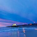 Apache Pier At Sunrise by Everet Regal
