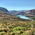 Apache Trail - Salt River - Arizona by Mark Valentine