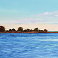 Apalachicola Bay Autumn Morning by Paul Gaj