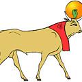 Apis - Egyptian Sacred Bull by Michal Boubin