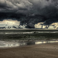 Apocalyptic Clouds Over The Atlantic by Mike Deutsch