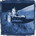 Apollo 17 Lunar Rover - Nasa by Raphael Terra