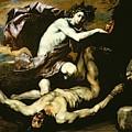 Apollo And Marsyas by Jusepe de Ribera