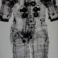 Apollo Space Suit X-ray by Tommy Anderson
