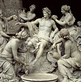 Apollo Tended By The Nymphs, Intended For The Grotto Of Thetis by Francois Girardon