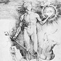 Apollo With The Solar Disc by Durer Albrecht