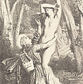 Apollon Et Daphne by Th?odore Chass?riau