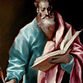 Apostle Saint Matthew by El Greco