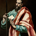 Apostle Saint Paul by El Greco