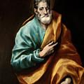 Apostle Saint Peter by El Greco