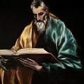 Apostle Saint Simon by El Greco