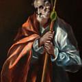 Apostle Saint Thaddeus, Jude by El Greco