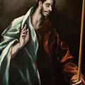 Apostle Saint Thomas by El Greco